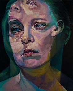 Scott Hutchison's Paintings, Drawings and Animations depict the figure in a sequence of events. His artwork portrays a complex and abstract world where time, the self and our perceptions are Portraits, Portrait Art, Portrait Paintings, Painting Inspiration, Art Inspo, Advanced Higher Art, Drugs Art, Ap Studio Art, A Level Art
