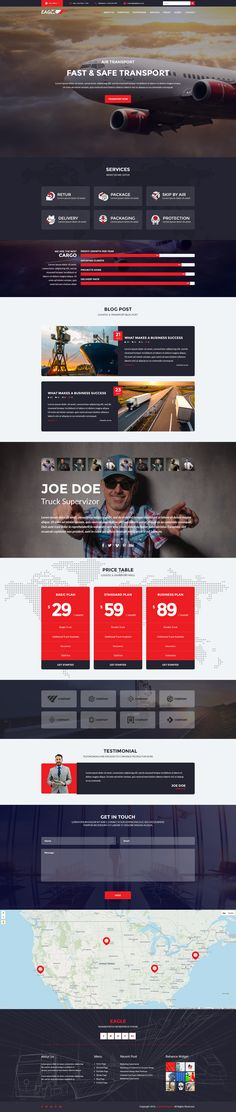Transportation Theme, Web Design, Design Ideas, Corporate Business, Page Layout, Wordpress Theme, Eagle, The Incredibles, Eagles