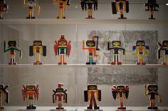 many characters,  different characteristics,  all uniform