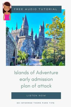 Find out the best tactics to make the most of early park admission at Universal Orlando's Islands of Adventure. Listen now at GoInformed.net/26 Universal Studios Florida, Universal Orlando, Florida Vacation, Fun Things, More Fun, Islands, Stuff To Do, Activities, Adventure