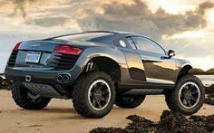 Audi R8 4X4 Insane concept  But interesting  It cut my attention for a second. And think about design. That's actually the way I see things.