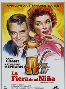 Cary Grant, Katharine Hepburn, Asta, and Nissa the Leopard in Bringing Up Baby Katharine Hepburn, Cary Grant, Best Horror Movies, Good Movies, Peliculas Western, Baby Movie, Turner Classic Movies, Best Horrors, Film Music Books