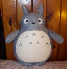 Totoro Plushie Been want to make one!