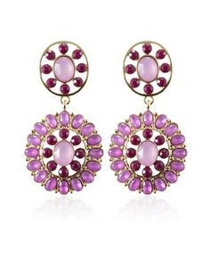 White House | Black Market Starlet Round Disc Drop Earring #whbm