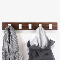 Walnut Coat Hanger by John Green Design | MONOQI