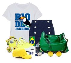 """""""Meu Brasil brasileiro......"""" by sil-engler ❤ liked on Polyvore featuring Festuvius, Miss Selfridge, Casetify, Converse, Chopard, Vivienne Westwood, Dolce&Gabbana and Sunny Rebel"""