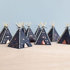 Wouldn't these be an absolute dream using your favorite shades of Bazzill Basics cardstock? Thanks @_sarah_matthews for keeping us inspired! . . . #bazzillbasics #repost #premiumcardstock #teepee