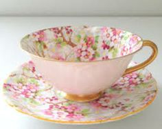 Pastel china teacup!
