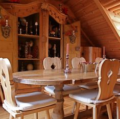 The perfect alpine chalet chairs