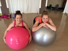 Two Icelandic visitors still manage to smile at the end of an intense Swiss ball class Iceland, Exercise, Gym, Smile, Photo And Video, Ice Land, Ejercicio, Excercise, Tone It Up