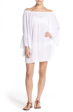 Elan Bell Sleeve Tunic Dress available at #Nordstrom
