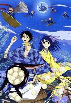 Watanuki and Zashiki (xxxHOLiC)