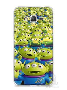 Capa Samsung Gran Prime Aliens Toy Story #2 - SmartCases - Acessórios para celulares e tablets :)