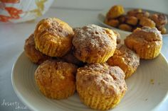 Easy Pumpkin Snickerdoodle Muffins from a cookie mix