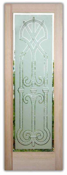 64 Best Etched Glass Doors Images On Pinterest Entrance Doors