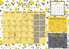 Calendrier Mars 2018 - March calendar - Goodies / Free printable to download on -  à télécharger sur www.mymyreloo.com