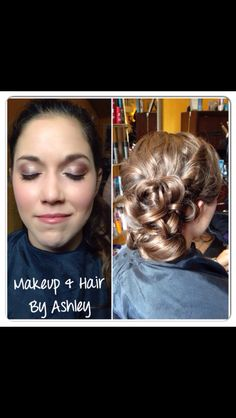 Makeup and upstyle