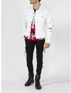 Vintage Destroy Denim Jacket.