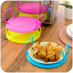 Multifunctional microwave dishes