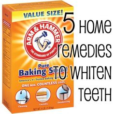 5 Home Remedies to Whiten Teeth