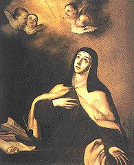 """St. Teresa of Avila  """"Accustom yourself continually to make many acts of love, for they enkindle and melt the soul."""""""
