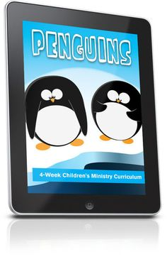 Free Children's Ministry Lesson that uses penguins to teach kids lessons from the Bible.  This lesson is from the Penguins 4-Week Children's Ministry curriculum series.