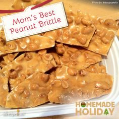 "Mom's Best Peanut Brittle | ""This is my first time making candy, and it was awesome!"" No wonder: ""Mom"" always has your back!"