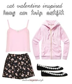 """""""Cat Valentine Inspired Long Car Trip Outfit"""" by stealarianagrandesstyle ❤ liked on Polyvore Girly Outfits, Summer Outfits, Cute Outfits, Cat Valentine Outfits, Hat Hairstyles, School Fashion, Skirt Fashion, Spring Fashion, Costume Ideas"""