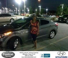 https://flic.kr/p/LVdGUs | #HappyBirthday to Trena from larry green at Fenton Hyundai! | deliverymaxx.com/DealerReviews.aspx?DealerCode=H248
