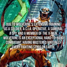 Wolverine's fighting styles
