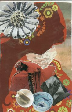 The Mediator (soul collage card)