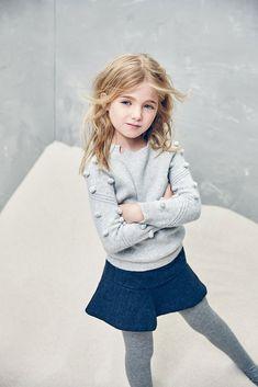 Jupe Nellystella Molly dans la marine - The Girls @ Los - Porter Bebe Toddler Girl Outfits, Toddler Fashion, Boy Fashion, Fashion Clothes, Girl Clothing, Teenage Clothing, Fashion Games, Fashion Accessories, Fashion Dresses