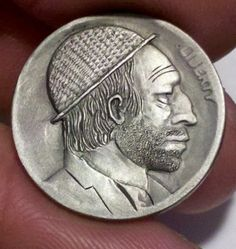 Hobo Nickel Folk Art Classic Man Buffalo Nickel | eBay