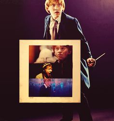 """""""As for me, I'll be a knight."""" NO SWEETHEART YOU'LL BE KING #Ron #Weasley"""