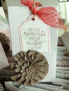 Handmade by Fanny Place Cards, Blog, Place Card Holders, In This Moment, Up, Flowers, Material, Handmade, Paper
