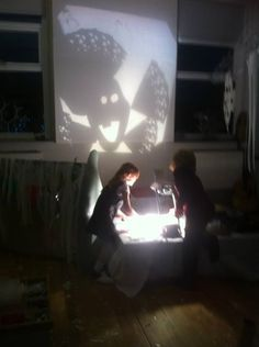 Frozen party - House of Objects- light and shadow play ≈≈