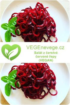 Real Food Recipes, Vegan Recipes, Beetroot, Cabbage, Salads, Food And Drink, Low Carb, Fresh, Vegetables