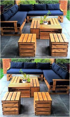 Most Creative Easy Diy Wood Pallet Furniture Project Ideas Homygarden Diy Pallet Furniture Outdoor Outdoor Furniture Plans Pallet Furniture Outdoor