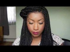 100 Ways To Style Your Box Braids | HelloBeautiful