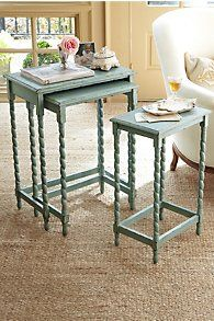 Riviera Nesting Tables available on soft surroundings