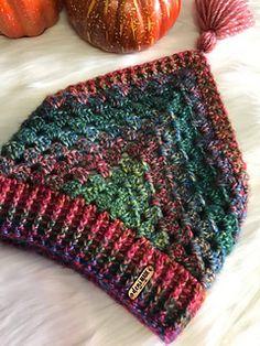 knit headband pattern Esme Kerchief Ear Warmer & Cowl pattern by Deni Sharpe Crochet Hooded Scarf, Crochet Beanie, Crochet Scarves, Crochet Shawl, Knit Crochet, Knit Headband Pattern, Knitted Headband, Crochet Triangle, Quick Crochet