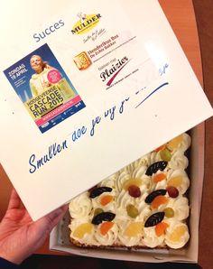 Vandaag een overheerlijke taart ontvangen omdat wij als bedrijf uiteraard meedoen met de Cascaderun 2015. Wij hebben er zin in!