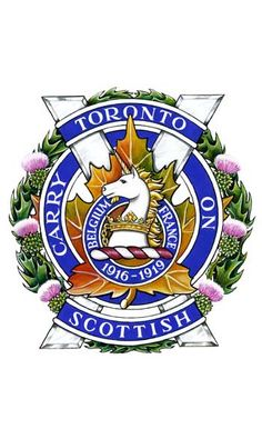 The Toronto Scottish Regiment (Queen Elizabeth The Queen Mother's Own) [Military Institution] Canadian Army, Canadian History, British Army, Military Units, Military Police, Afghanistan War, Military Insignia, Badge Design, Crests