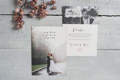"""50x Dankeskarte """"Ewig dein"""" von Schneider's Family Business auf DaWanda.com"""