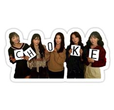 """Red Velvet CHOKE Meme"" Stickers by hollywood jurina Kpop Girl Groups, Kpop Girls, Red Velvet, Meme Stickers, Funny Kpop Memes, Reaction Pictures, Seulgi, Pop Group, I Laughed"