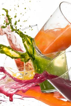 Matthew Kenney, an acclaimed raw-food chef in California, has been creating dishes with fresh juices for years. Here, he offers up a recipe great for cleaning out your crisper. (Photo Illustration: Tony Cenicola/The New York Times)