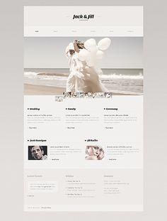 Wedding Album Website Template #fashion #javascript #html http://www.templatemonster.com/website-templates/41010.html?utm_source=pinterest&utm_medium=timeline&utm_campaign=wedd