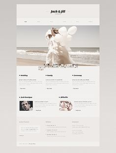 Wedding Album Website Template #fashion #javascript #html http://www.templatemonster.com/website-templates/41010.html?utm_source=pinterest&utm_medium=timeline&utm_campaign=wedd
