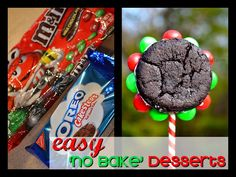 No bake Holiday Desserts