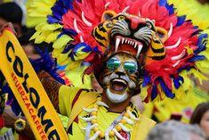 Den heutigen Ruhetag bei der Fußball-WM nutzen wir, um euch die besten und verrücktesten Schnappschüsse der unzähligen Fans zu präsentieren.